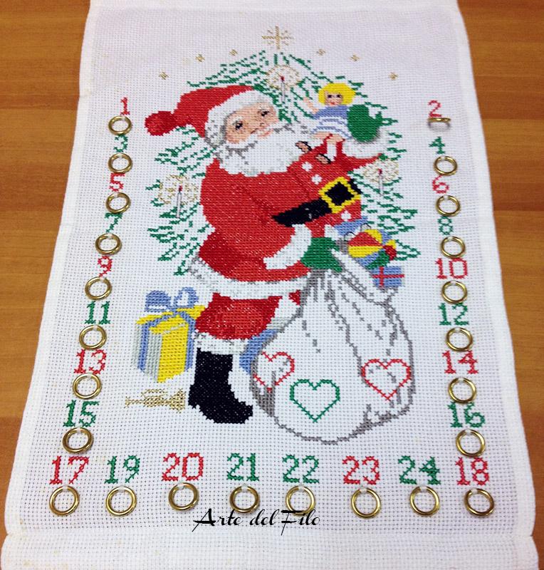 Calendario Dellavvento Punto Croce.Calendario Dell Avvento Arte Del Filo